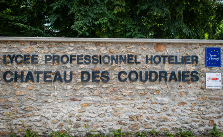 Lycee Hotelier Chateau des Coudraies